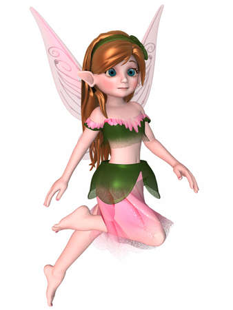 faerie: 3D Render of an Toon Fae
