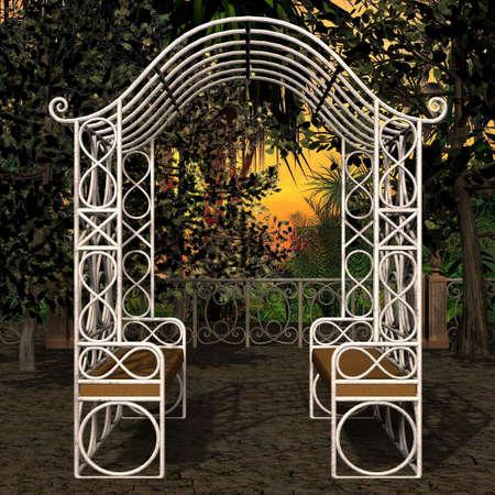 mystic place: 3D Render of an Mystic Place