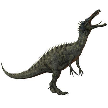 chordata: 3D Render of an Suchomimus Tenerensis-3D Dinosaur