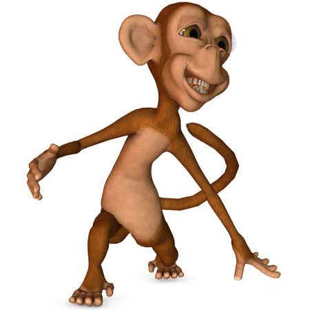 Toon Monkey Stock Photo - 3386278