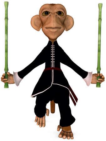 fu: Toon Monkey-Kung Fu