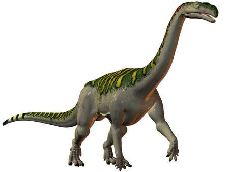 3D Render of an Plateosaurus-3D Dinosaur