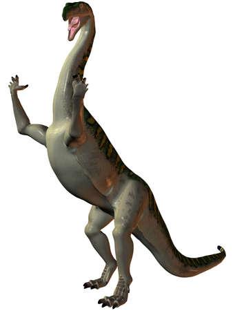 caudal: 3D Render of an Plateosaurus-3D Dinosaur