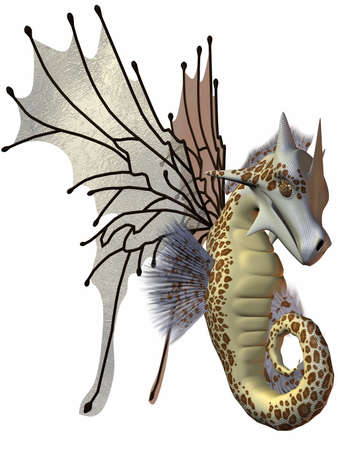 faerie: Fantasy Faerie Dragon Stock Photo