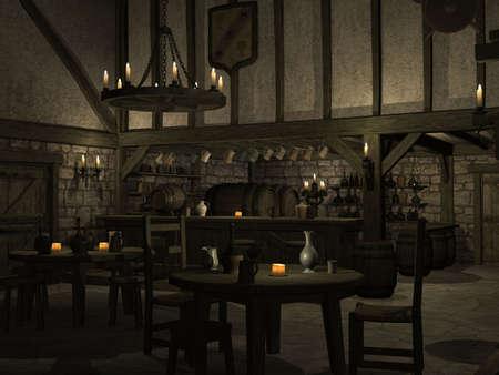 taverns: Medieval Tavern