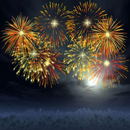rocket bomb: Firework