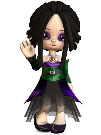 vamp: Little Gothica-Toon Figure