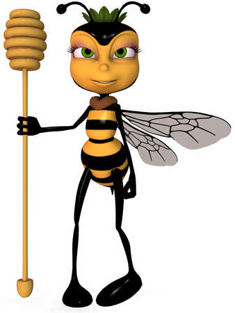 toons: Honey The Toon Bee