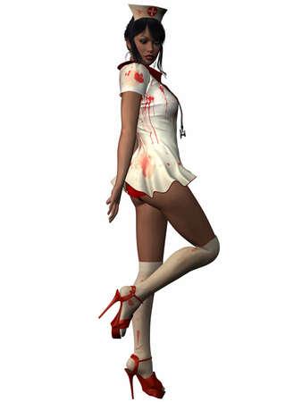 hospice: Bloody Nurse