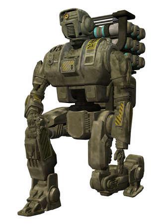 trooper: Drone Trooper - 3D Figure Stock Photo