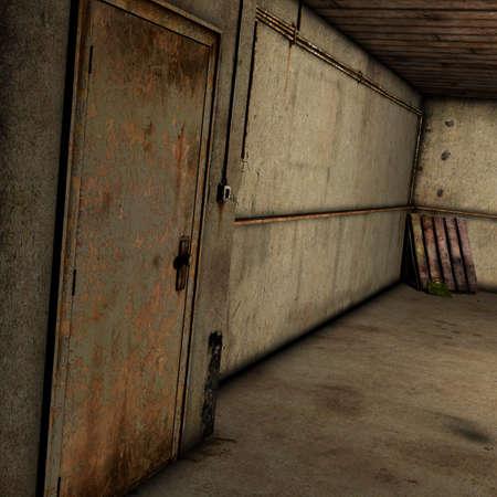 abandoned warehouse: Abandoned Room