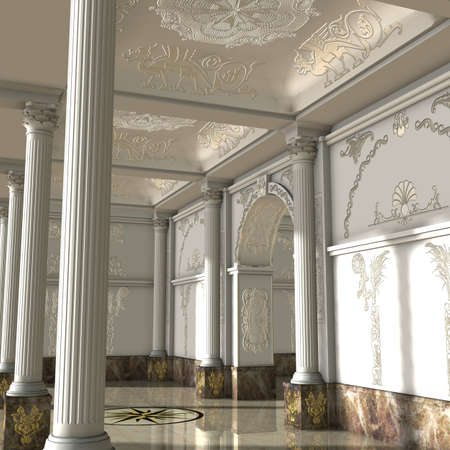 strip structure: Great Luxury Hall
