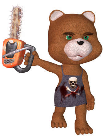 ripper: Crazy Toon Bear