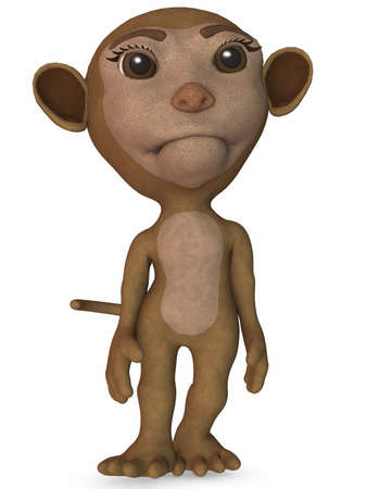 Toon Monkey Stock Photo - 4199793