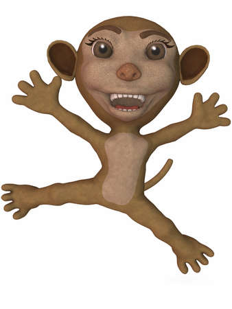 Toon Monkey Stock Photo - 4199792