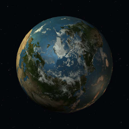 geosphere: The Earth Stock Photo