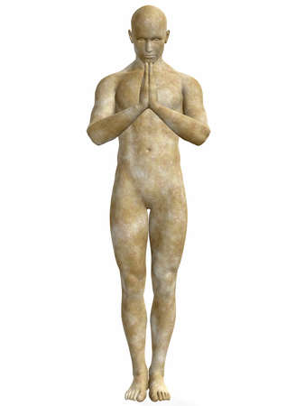 immortal: Male Stone Statue