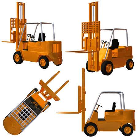 millboard: Forklift