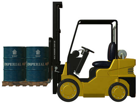 Forklift Stock Photo - 4218542