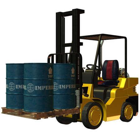 Forklift Stock Photo - 4218543