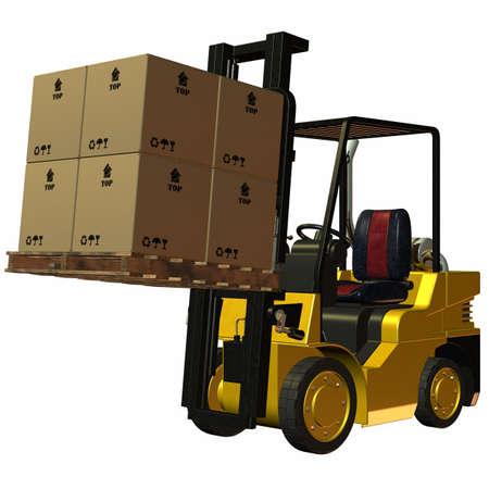 Forklift Stock Photo - 4218540