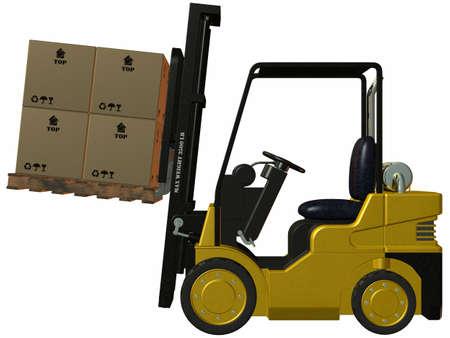 Forklift photo
