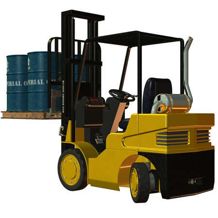 Forklift Stock Photo - 4218547