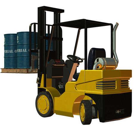 Forklift Stock Photo - 4218547