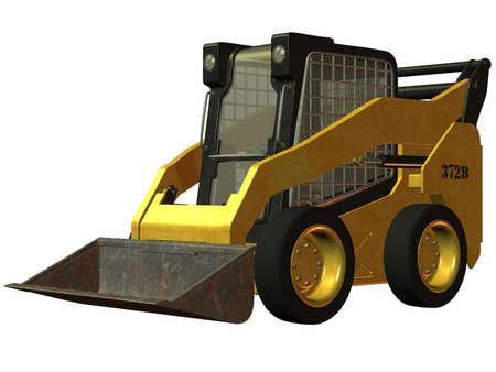 cargador frontal: SKID STEER cargador