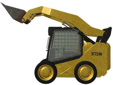 trencher: Skid Steer Loader