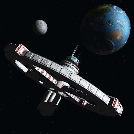 future space: The New Space Station 2500