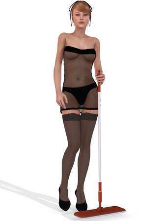 nanny: Sexy Housemaid
