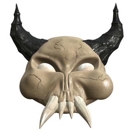 3D Fantasy Skull photo