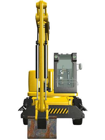 Wheel Excavator Stock Photo - 4519503