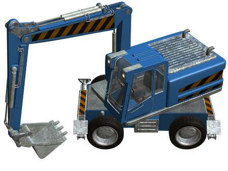 Wheel Excavator Stock Photo - 4519509