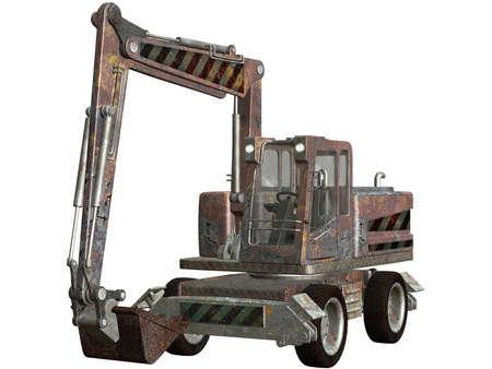 Wheel Excavator Stock Photo - 4519508