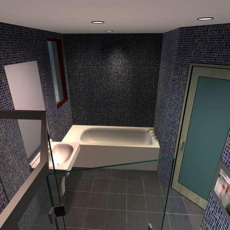 Modern House - Bathroom Stock Photo - 4644124