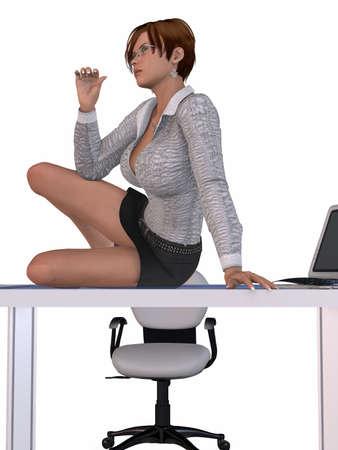 sexy secretary: Sexy Secretary