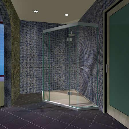 Modern House-Master Bathroom photo