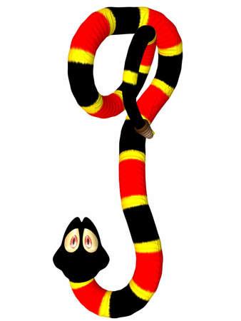 Toonimal Snake Standard-Bild - 4818743
