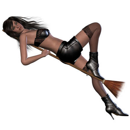 sorci�re sexy: Sexy Witch Banque d'images