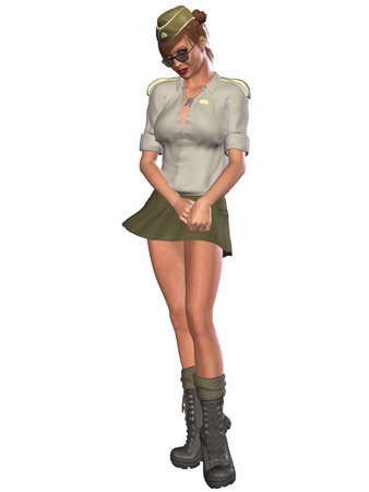 Army Pinup Girl