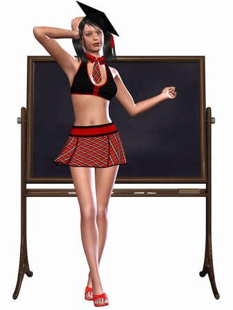 University Girl Stock Photo - 5036690