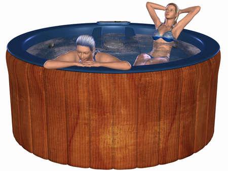 hot tub: Hot Tub