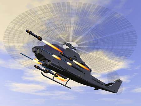 turboprop: AH 1 SS Cobra Stock Photo