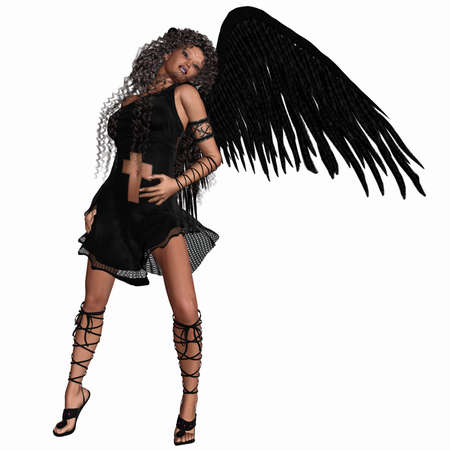 sentiment: Lovely Angel Stock Photo