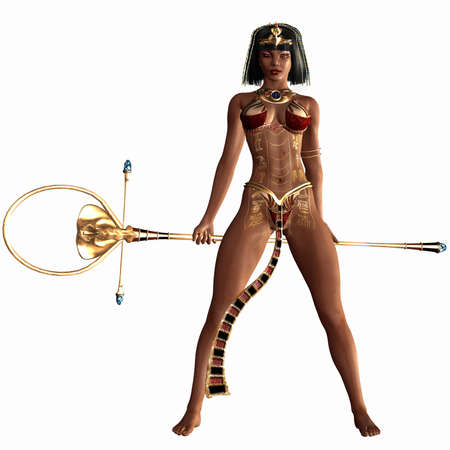 cleopatra: Queen of the Nil - Egyptian 3D Figure