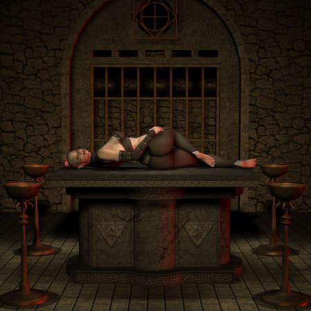 Vampire Hunter - Halloween Figure photo