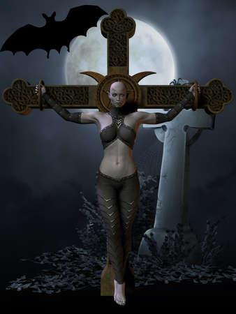 3d vampire: Vampire Hunter - Halloween Figure
