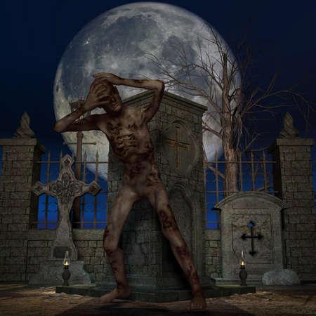 Zombie - Halloween Figure photo